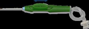 Extendable PolyTip® Cannula 23g/38g